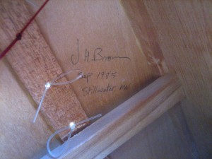 Jerry Brown Signature