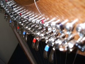the harp I played in ireland