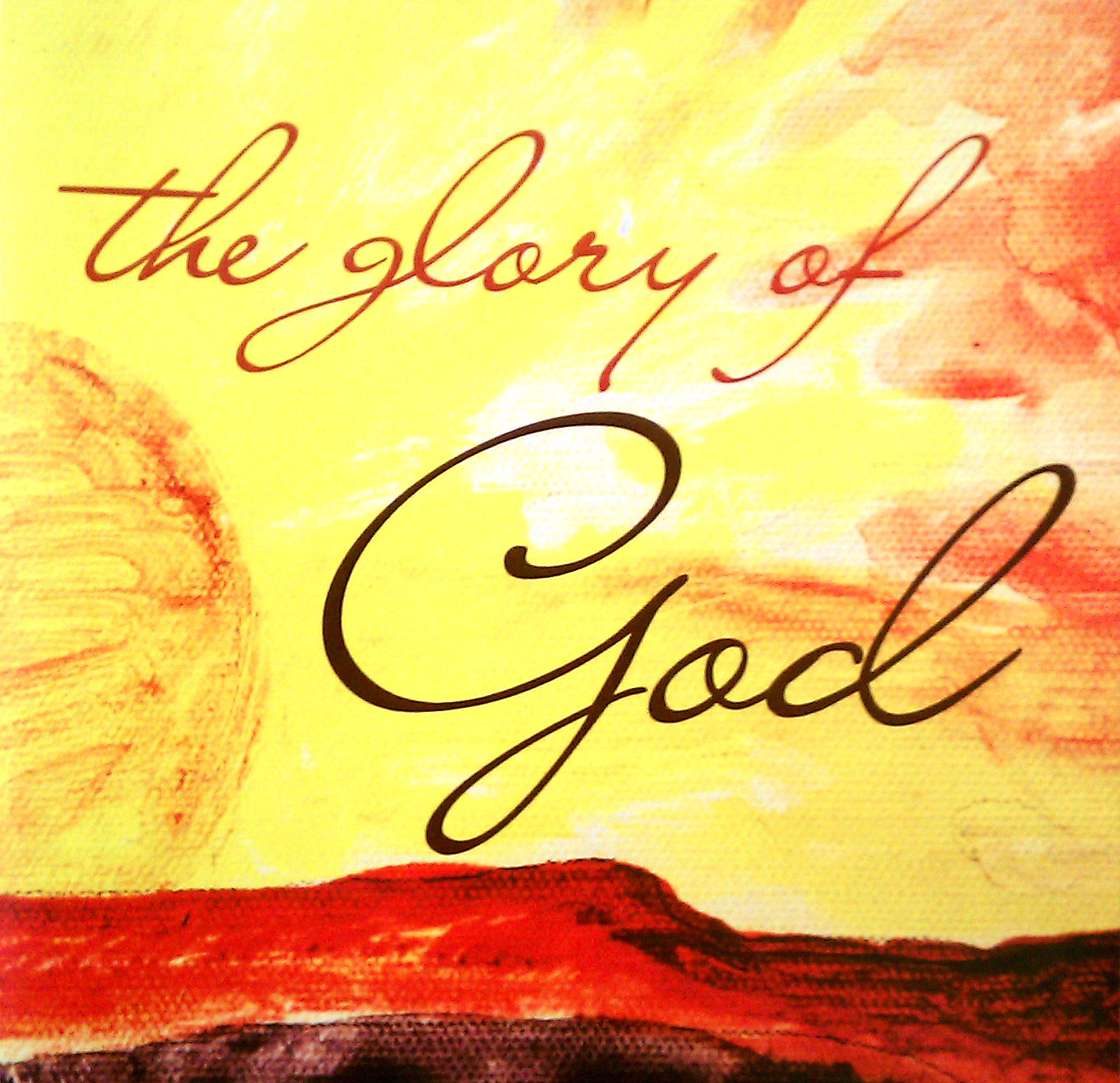 The Glory of God Album Cover