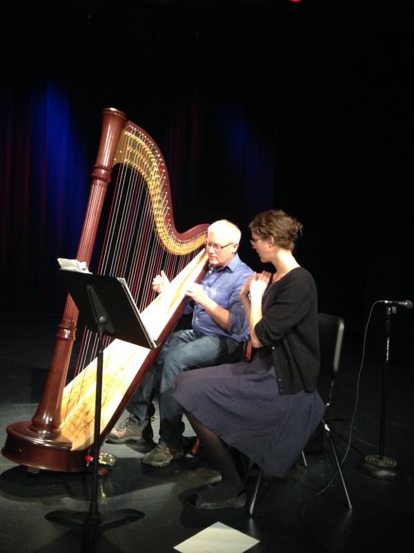 Harp lesson in Dawson
