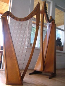 Two Musicmakers Harps