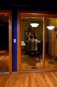 Harpist recording