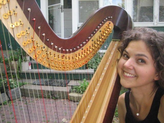 Outdoor Wedding Harp Essentials